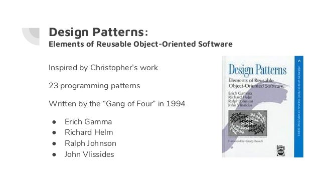 Cf Objective 2017 Design Patterns Brad Wood