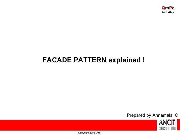 QmPe                                              initiativeFACADE PATTERN explained !                               Prepa...
