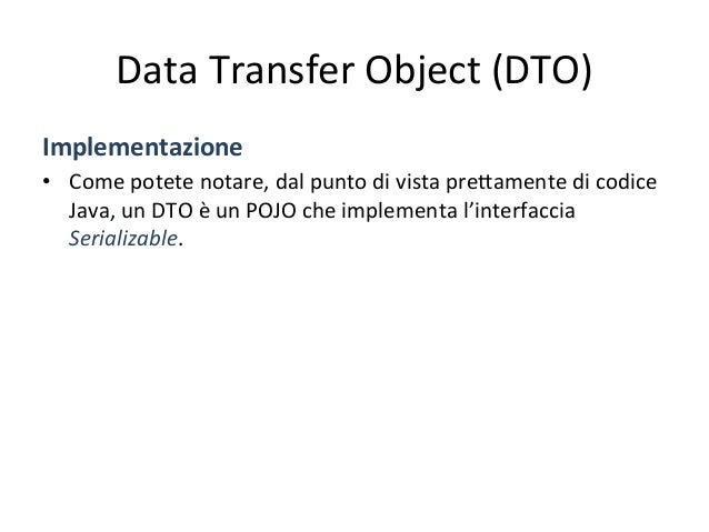 Data  Transfer  Object  (DTO)   Sequence  diagram