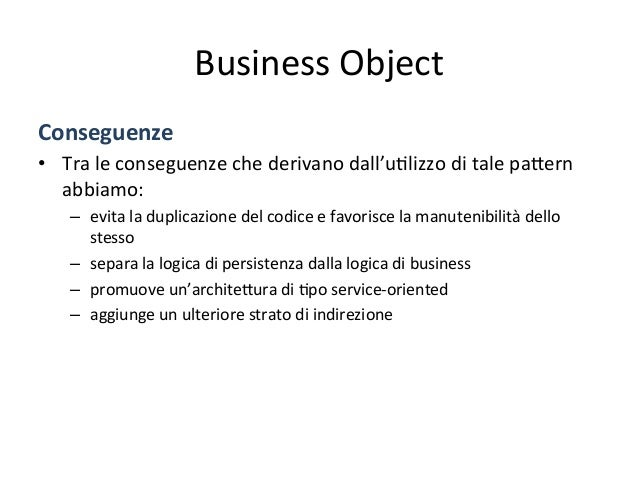 ApplicaAon  Service   Client ApplicationService - accedes BusinessObject DataAccessObject Service - uses 0..* - uses 0...