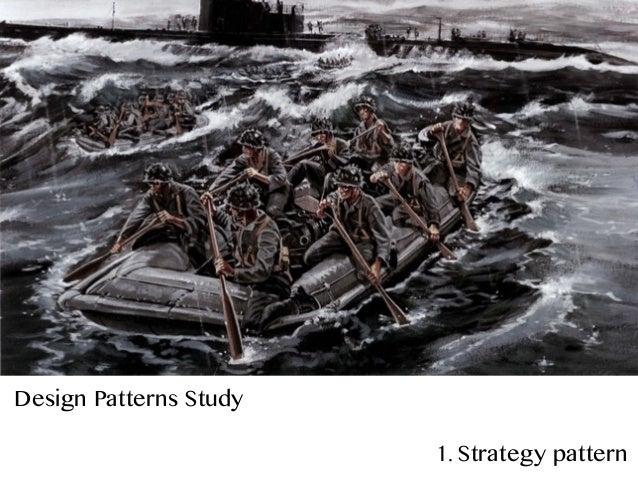 Design Patterns Study 1. Strategy pattern