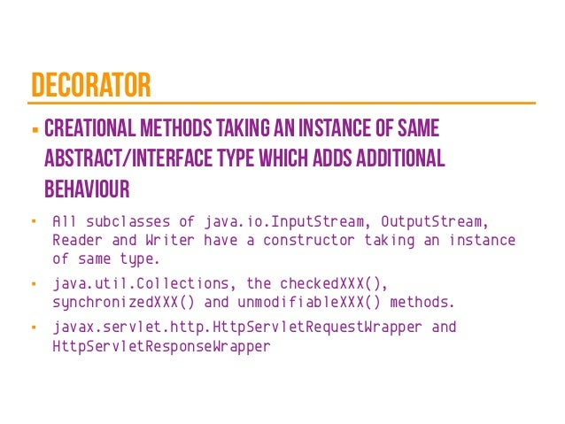 Different Types Of Design Patterns In Java With Examples