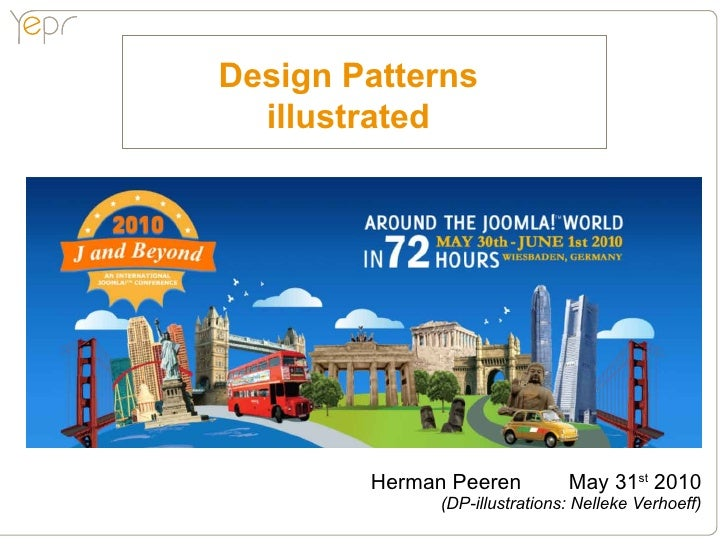 Design Patterns   illustrated             Herman Peeren          May 31st 2010               (DP-illustrations: Nelleke Ve...