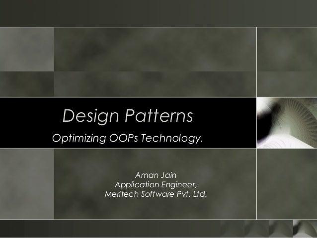Design Patterns Ppt