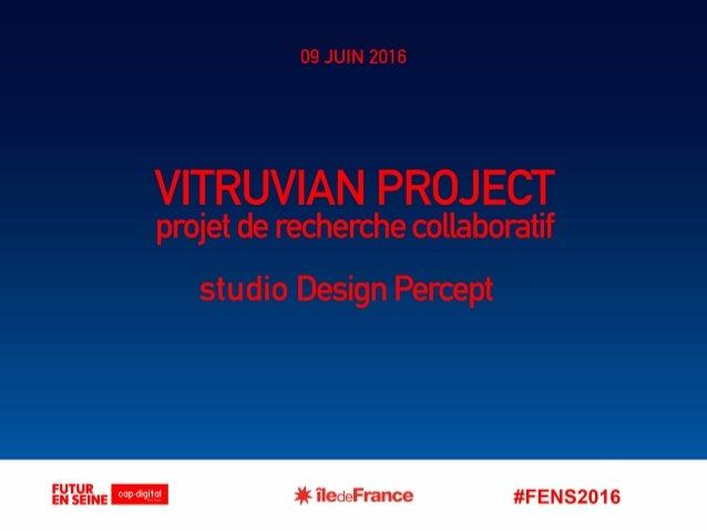 Focus R&D Vêtements connectés : Vitruvian Project