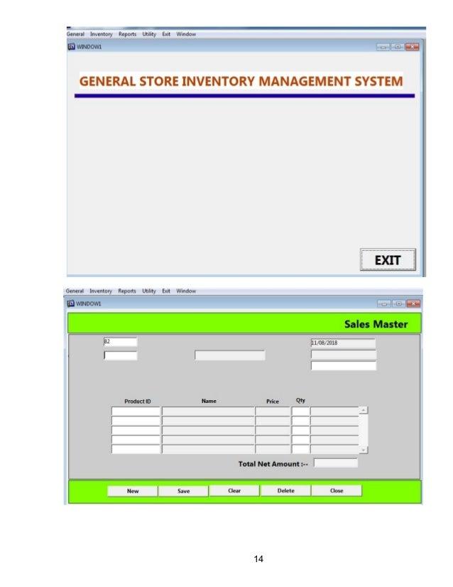 Design Phase Inventory Management