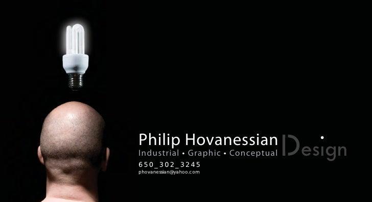 Design portfolio for Industrial design startups
