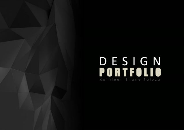 Design portfolio taloza k s for How to make interior designer portfolio