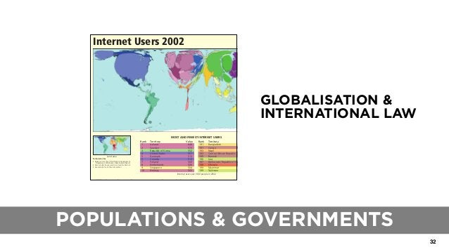 32 THE ROLE OF TRADITIONAL BLUEPRINTS GLOBALISATION & INTERNATIONAL LAW Rank Territory Value 191 Bangladesh 1.5 191 Congo ...