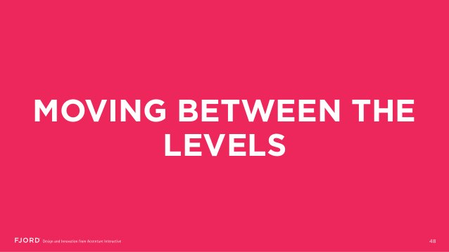 MOVING BETWEEN THE LEVELS 48