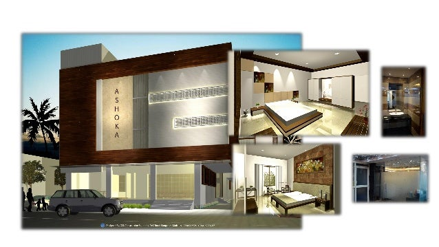 Evolution Of Concept For Hotel Ashoka