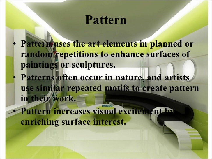 Principles Of Art Pattern : Elements principles of design d