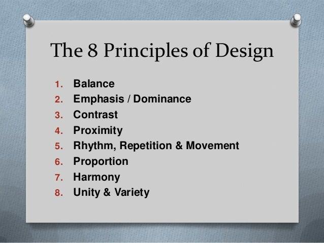 8 Principles Of Art : Top design principles art elements and