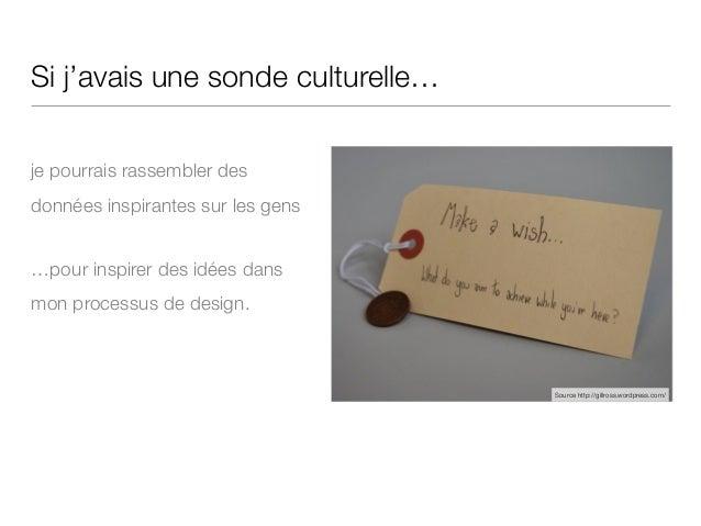 Atelier Design Probes - FLUPA UX-Day 2015 Slide 3