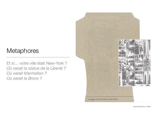 Metaphores Et si… votre ville était New-York ?  Où serait la statue de la Liberté ? Où serait Manhattan ? Où serait le Bro...