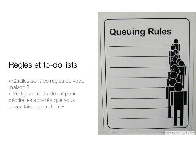 Règles et to-do lists «Quelles sont les règles de votre maison ?» «Rédigez une To-do list pour décrire les activités qu...