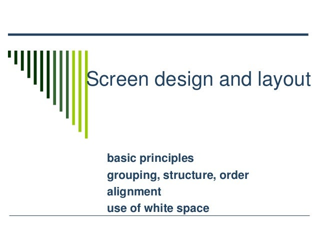 Basic Web Design Principles White Space