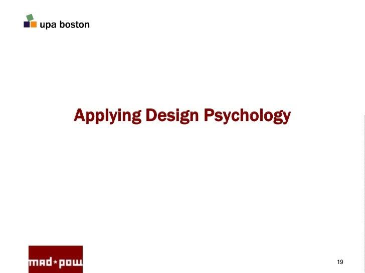 Classroom Design Psychology ~ Applying design psychology