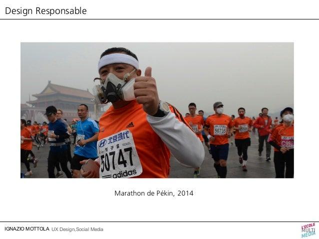 Design Responsable  IGNAZIO MOTTOLA UX Design,Social Media  Marathon de Pékin, 2014