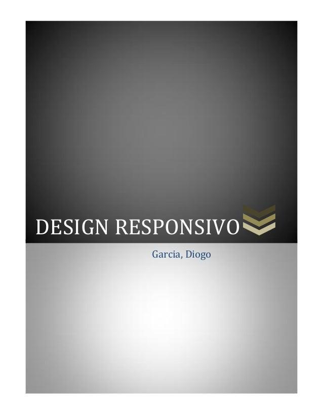 DESIGN RESPONSIVO Garcia, Diogo