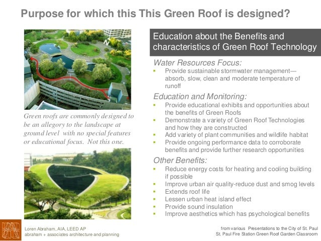 st paul fire station green roof intrpretive center and. Black Bedroom Furniture Sets. Home Design Ideas