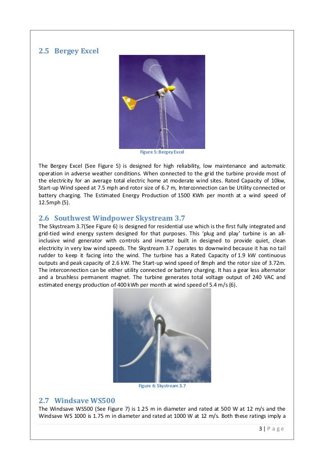 Design small scale wind turbine for home electricity generation