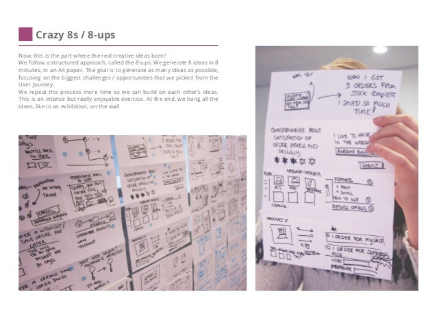 Wireframes (Solution Sketch) We try to create personal wireframes that represent personal solutions. ''Wireframes are roug...