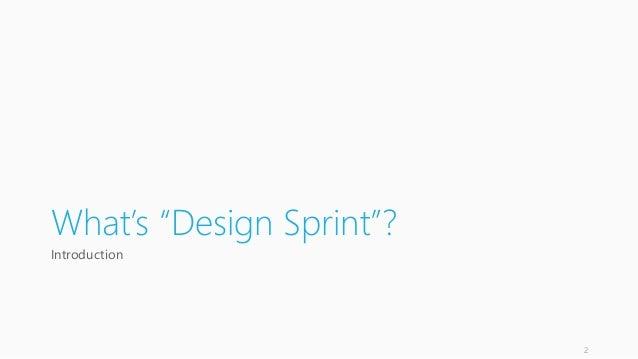 Design Sprint 概要 / デザインスプリント概要 Slide 2