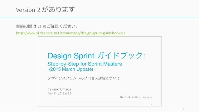 Design Sprint Process / デザインスプリントの実際のプロセスについて Slide 3
