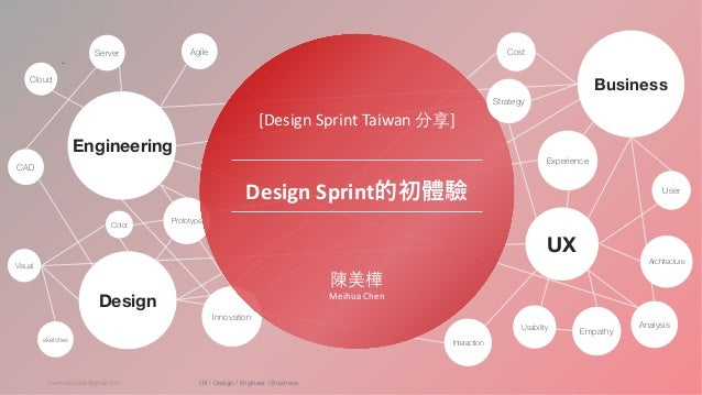 chenmeihua92@gmail.com UX / Design / Engineer / Business test Cloud Server Agile CAD sketches Color Visual Prototype Innov...