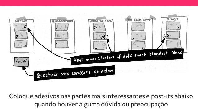 Design sprint workshop techleap passo 4 voto do decisor 5 min ccuart Gallery