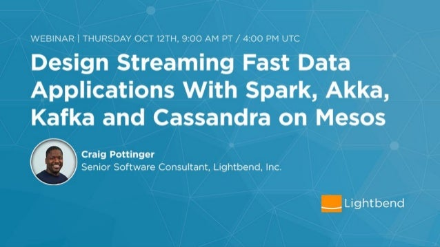 Understanding Data Streaming •To understand Fast Data we must first understand traditional data streaming: •The processing...