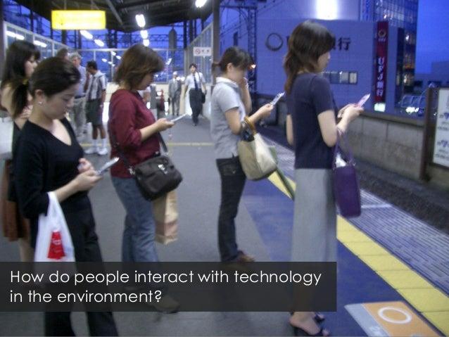 Invisible media in the urban landscape