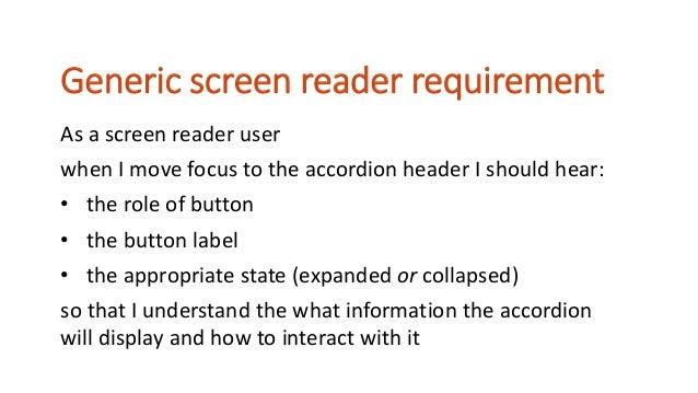 Tip 6 Just because your individual components or patterns are accessible, doesn't mean you magically create an accessible ...