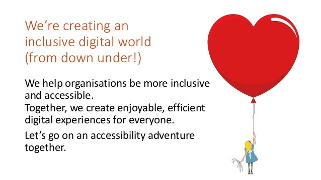 Design Systems that supports inclusive experiences Slide 2