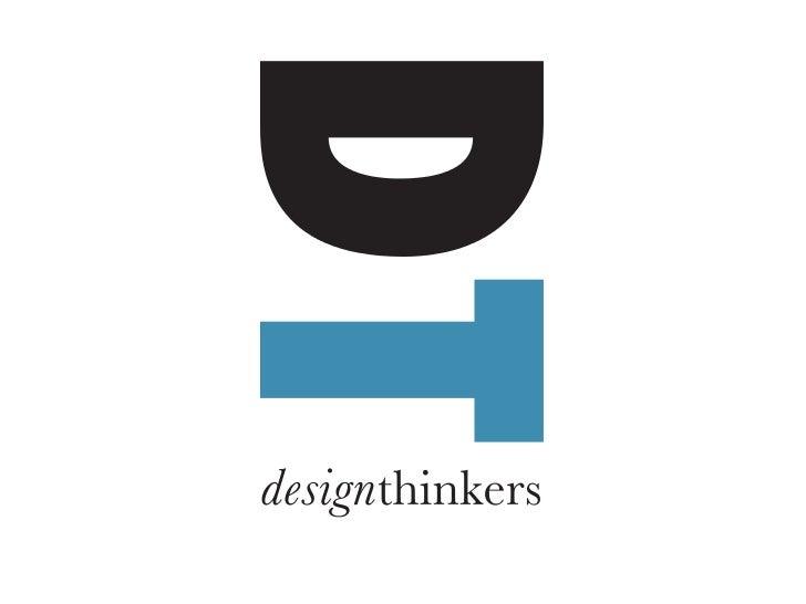 Arne van Oosterom      Marketing Conference        The Hague April 15th 2011   Twitter @DesignThinkers Email arne@designth...