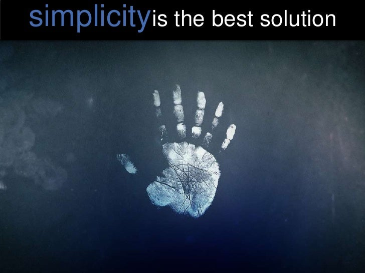 complexityis a great beginning<br />