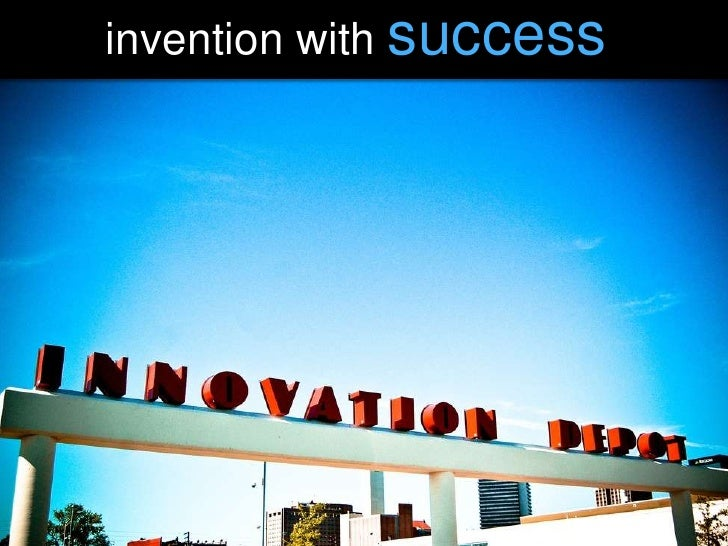 invention with success<br />