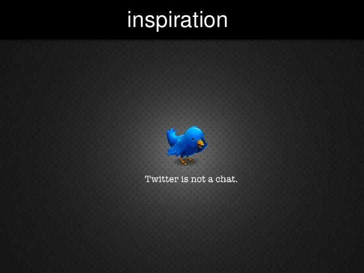 inspiration<br />