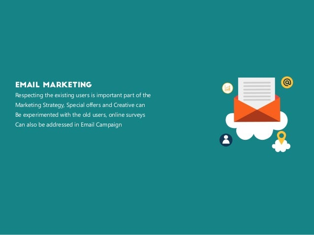 Email Marketing Respecting the existing users is important part of the Marketing Strategy, Special offers and Creative can...