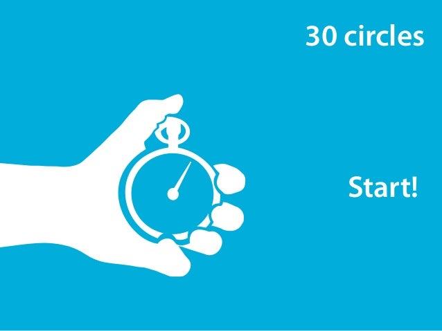 30 circles  Start!