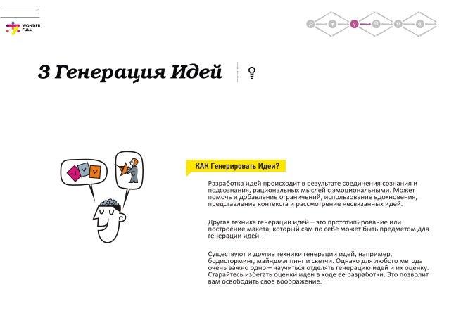 Дизайн-мышление. Гайд по процессу / Design Thinking Guide / Russian