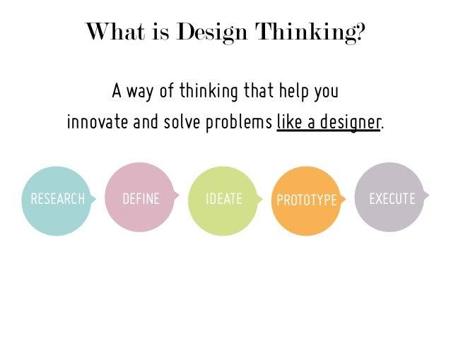 5 principles of design  The Big Principles of Design Thinking
