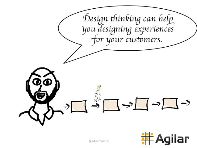 @adiazmaroto   Design thinking can help you designing experiences for your customers.