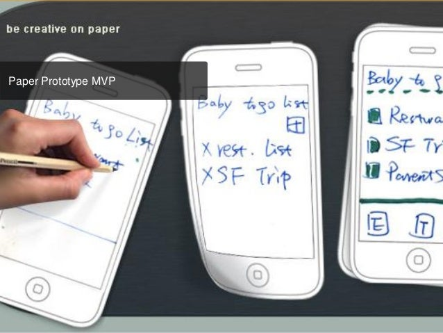 Paper Prototype MVP