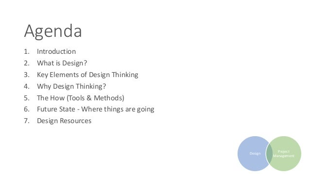 Design Thinking & Project Management