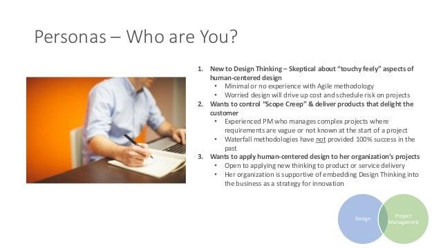 Design Thinking & Project Management Slide 3