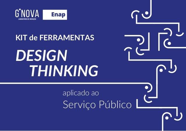 THINKING DESIGN aplicado ao Serviço Público KIT de FERRAMENTAS