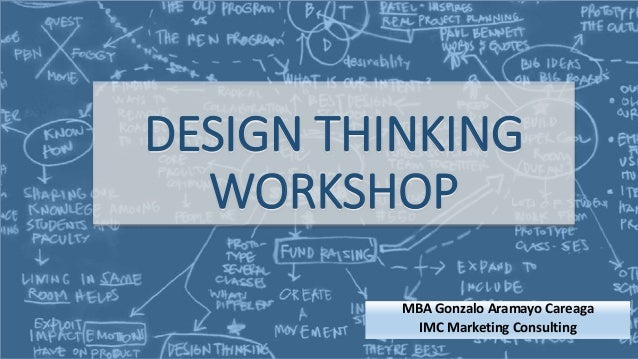 Design thinking workshop for Design thinking consulting