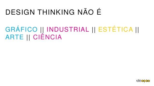 Design Thinking e Ferramentas de Inovação Slide 3